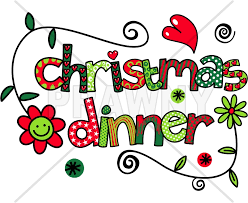 Christmas Dinner Doodle Text Clip Art by DoodlePrawn on DeviantArt